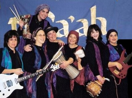 Tofaah Jewish women's band