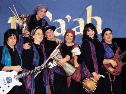 Tofaah Jewish women's band